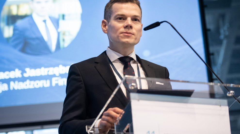 Przewodniczący KNF Jacek Jastrzębski