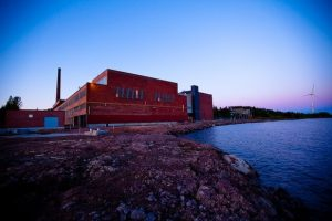 google hamina mill building