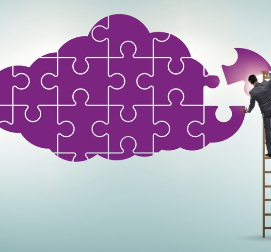 Concept of cloud computing strategy