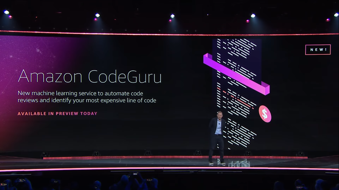 CodeGuru Andy Jesse, re:Invent 2019
