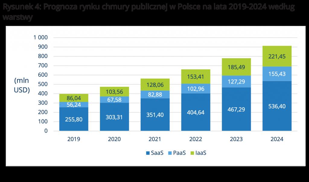 Rynek chmurowy w Polsce 2019-2024