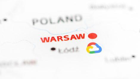 Region GCP Warszawa dostępny